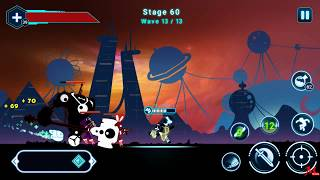 Stickman Ghost 2: Galaxy Wars - FINAL BOSS