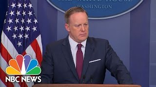 Sean Spicer: 'The President Understands This Is It' For Health Care   NBC News