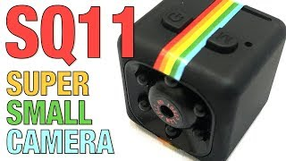 SQ11 Mini Camera 1080P HD DVR - Quick Review with FOOTAGE