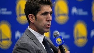 Bob Myers on drafting Jacob Evans and how aggressive Warriors were in buying picks