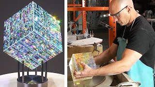 Glass Sculptures That Can Take Years To Make