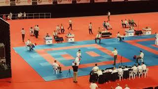 AMIRALI DIDAR (KAZAKHSTAN,KAZ) vs Karimi Seyedali (Iran Karate Federation,IRI)