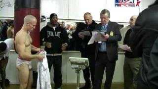 Ian Napa v Jamie McDonnell - Weigh in (plus undercard)