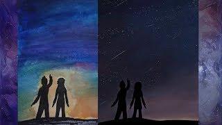 A Meteor Night- Speedpaint