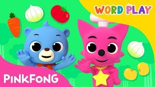 Vegetables | Word Play | Pinkfong Songs for Children