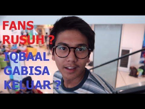 IQBAAL DIKEPUNG FANS SAMPE RUSUH ?  VLOG #belajaritukeren eps. 2 Kota Palembang-6 KOTA 3 HARI