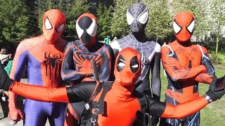 DEADPOOL vs SPIDER-MAN, X-MEN and AVENGERS - Real Life Superhero Movie! TheSeanWardShow