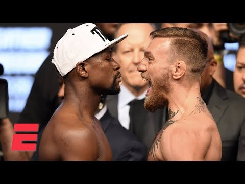 Xxx Mp4 FULL Floyd Mayweather Vs Conor McGregor Official Weigh In ESPN 3gp Sex