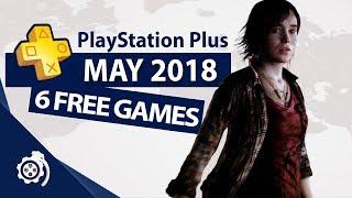 PlayStation Plus (PS+) May 2018