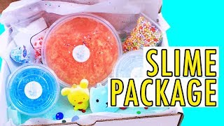 THE BEST SLIME PACKAGE EVER!!!