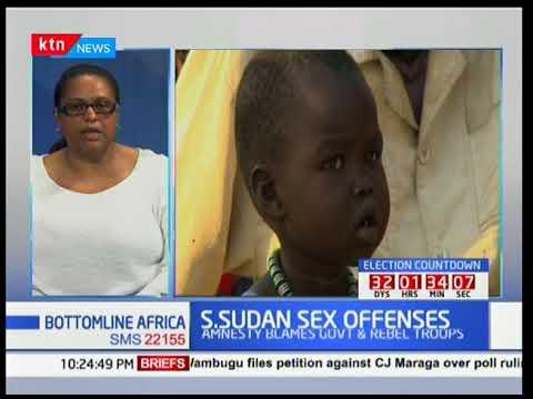 Bottomline Africa: S.Sudan sex offenses