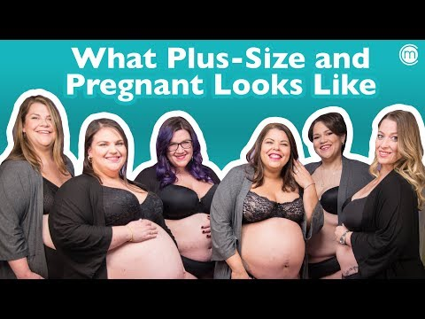 What Being Plus-size and Pregnant Looks Like