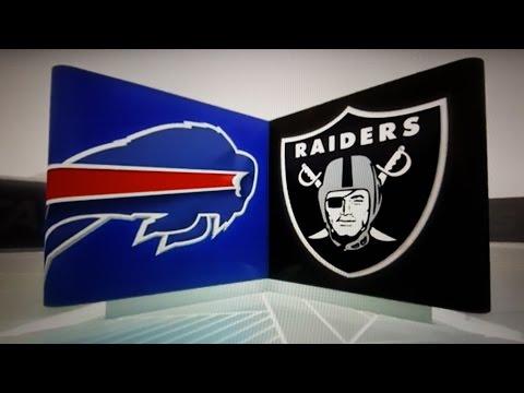 Oakland Raiders Beat Buffalo Bills 38 - 24 , IM FLYING TO KANSAS CITY! I The Black and Silver Way
