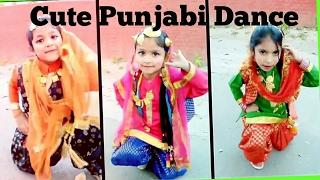 OMG cute punjabi dance by beauty n grace dance academy