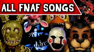 FIVE NIGHTS AT FREDDY'S SONGS (TryHardNinja)