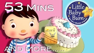 1, 2 What Shall We Do | Plus Lots More Nursery Rhymes | 53 Minutes Compilation from LittleBabyBum!