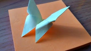 ORIGAMI BUTTERFLY EASY || Paper butterfly craft  for Kids