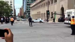 Dhoom 3 movie filming at union station Chicago - take 2