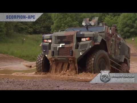 STREIT Group APC Vehicle Range