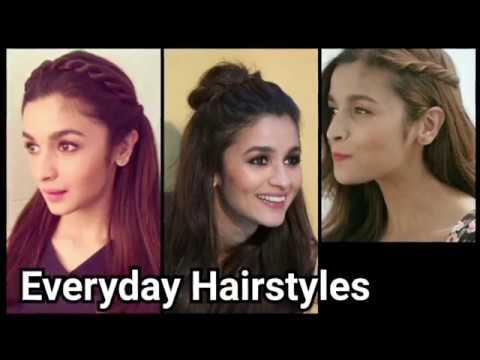 Xxx Mp4 Everyday QUICK EASY Hairstyles For Medium Long Hair Indian Hairstyles Alia Bhatt Hairstyles 3gp Sex