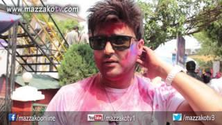 Mazzako Holi guff with Aaryan Sigdel    Holi 2072    Mazzako TV