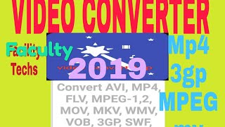 How to Convet Video MPEG to Mp4 3gp etc in Android Mobile
