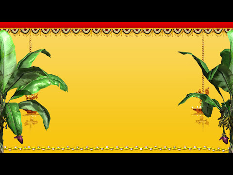 Indian Wedding Background Video-Cool Intro BG
