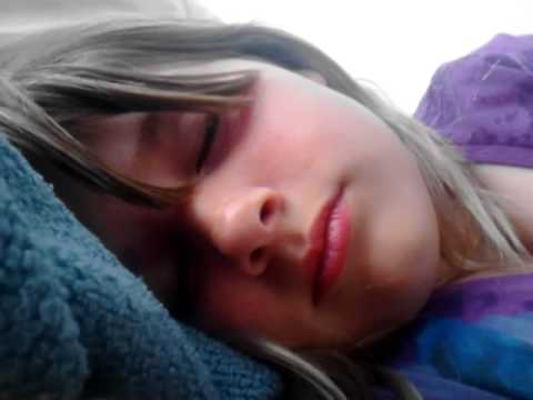 Cute girl sleeping