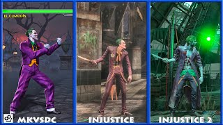DC Universe MKVSDC Injustice THE JOKER Graphic Evolution 2008-2017 | XBOX360 PS4 |