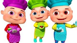 Five Little Babies Baking A Cake | Five Little Babies Collection | Zool Babies Fun Songs