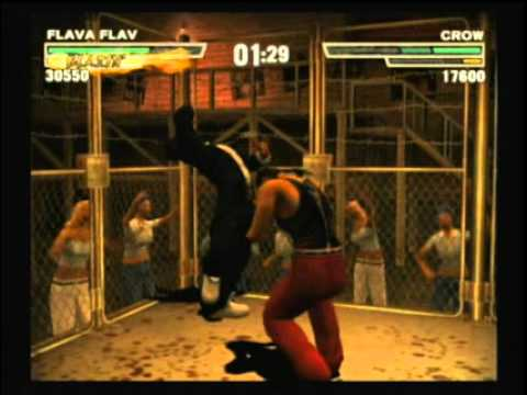 Def Jam Fight for NY Flava Flav vs Crow