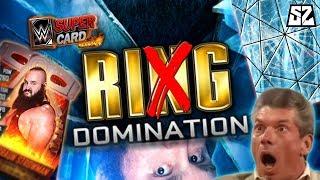 RIGGED DOMINATION? BIG SWEATY MEN EDITION! | WWE SuperCard SEASON 4