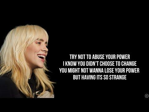 BILLIE EILISH YOUR POWER Lyrics