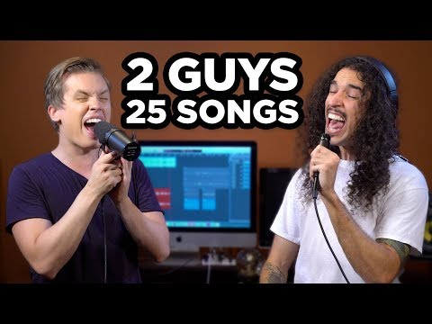2 GUYS 25 SONGS 1 BEAT