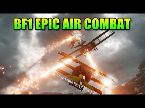 watch Battlefield 1 Epic Air Combat   BF1 Beta Gameplay