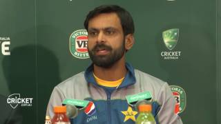 Hafeez hails 'special' victory in Melbourne