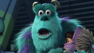 Monsters Inc Sulley knows that Randall's in Boo's room