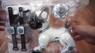 Wowwee Chip Robot dog unboxing