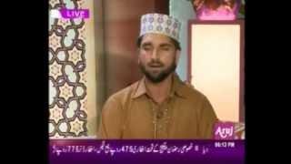 YE KEFIYAT B BARHA IN ARUJ TV by qari ansar ali qadri