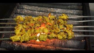 How To Make Persian Joojeh Kebab (Thigh)