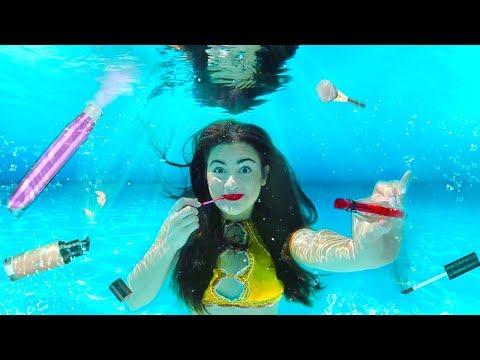 Xxx Mp4 Doing My Makeup Underwater Extreme Makeup Challenge 3gp Sex