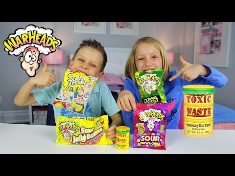 Xxx Mp4 Extreme Sour Candy Review Warheads Challenge Toxic Waste Super Lemon Japanese Candy 3gp Sex