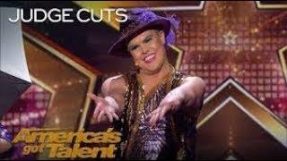 Hans German Brings It's Raining Men Extravaganza To America   America's Got Talent 2018