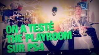 On a testé The Playroom sur PS4