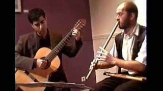 PEDRAM & FERENC play IRANIAN FOLKLORE MUSIC