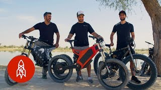 Riding the Dunes in Dubai's Electric Dirt Bikes
