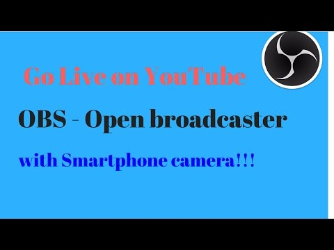 How to use android or iphone camera as virtual webcam for OBS 3 best apps