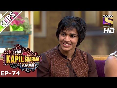 Babita speaks Dangal's Dialogue  - The Kapil Sharma Show – 15th Jan 2017