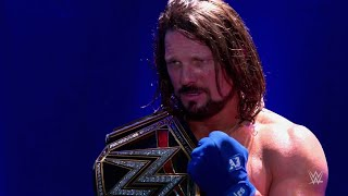 Follow AJ Styles on his journey to the WWE Championship: Exclusive, Nov. 9, 2017