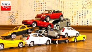 Toy Car Crashes | Hot Wheels & Other Cars | Video for kids